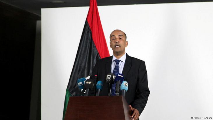 Zurückgetretener  Vize-Regierungschef der Nationalen Einheitsregierung, Musa al-Koni; Foto: Reuters