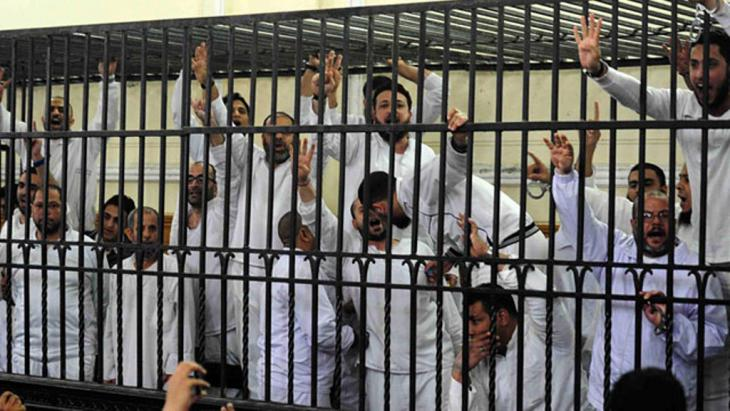 Inhaftierte Muslimbrüder; Foto: Reuters