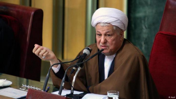Ali Akbar Haschemi Rafsandschani; Foto: dpa