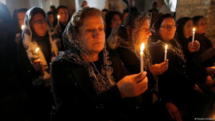 Zu den christlichen Feiertagen kommen viele ehemalige Bewohner zurück in ihre Dörfer; Foto: A. Awad