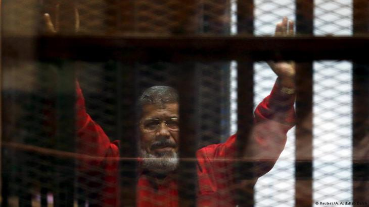 Ex-Präsident Mohamed Mursi; Foto: Reuters