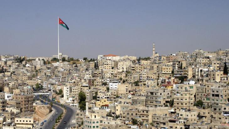 Blick auf die jordanische Hauptstadt Amman, Foto: picture-alliance