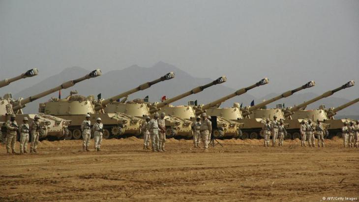 Panzer der saudischen Armee; Foto: AFP/Getty Images