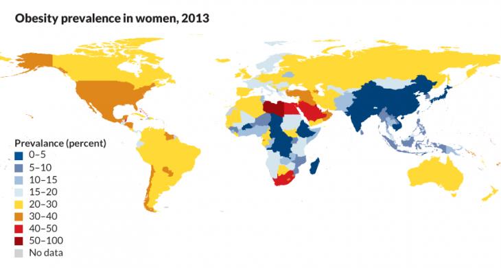 Infografik weltweites Übergewicht im Überblick; Quelle: sciencenews.org