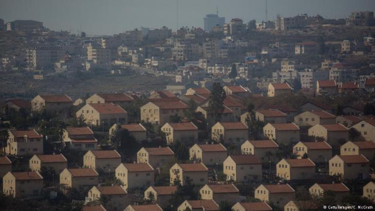 Israelischer Siedlungsbau in Amona, West Bank; Foto: Getty Images