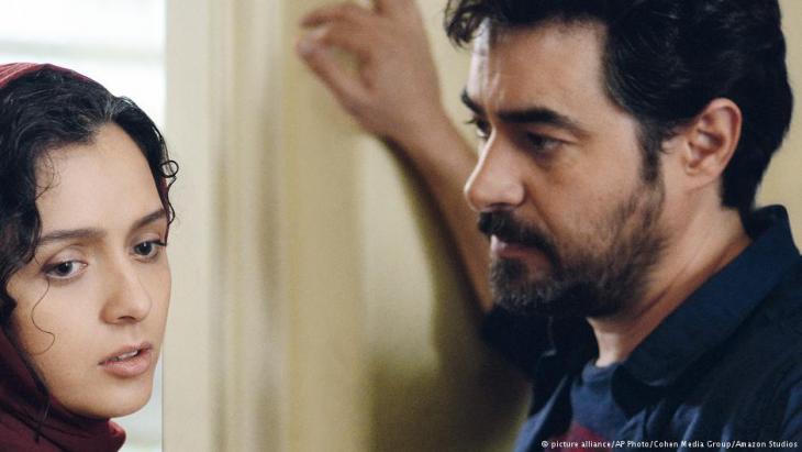 """Filmszene aus """"The Salesman"""": Emad und Rana stecken in einer Beziehungskrise; Foto: picture alliance/APphoto/Cohen Media group/Amazon studios"""