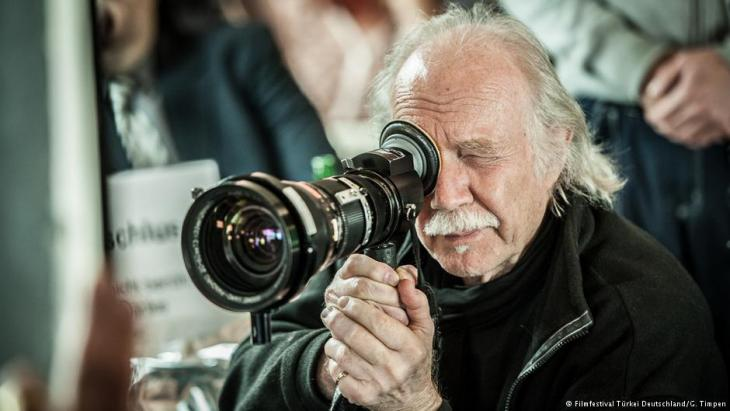 Der Filmemacher Jürgen Jürgens; Foto: Filmfestival Türkei Deutschland / G.Timpen