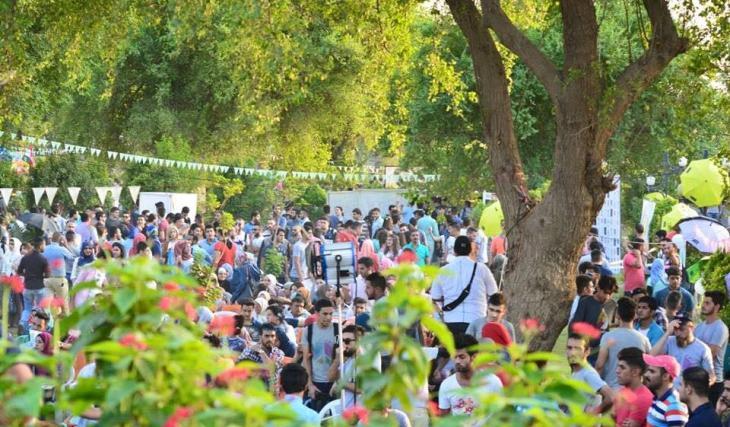 "Festival-Teilnehmer des ""City of Peace Carnival"" in Bagdad; Quelle: Baghdad City of Peace Carnival"