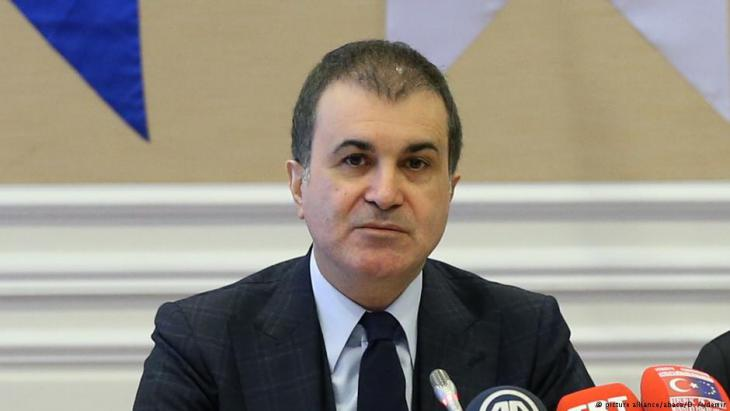 Der türkische Europaminister Ömer Celik; Foto: picture-alliance