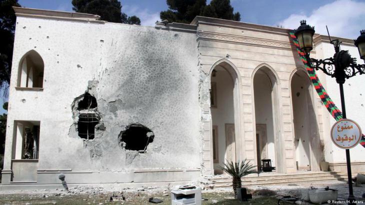 Regierungsgebäude in der libyschen Hauptstadt Tripolis; Foto: Reuters