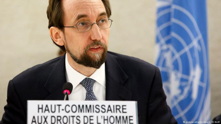Der UN-Hochkommissar für Menschenrechte, Zeid Ra'ad Al Hussein; Foto: picture-alliance/dpa