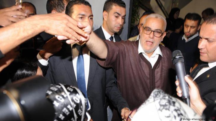 Marokkos ehemaliger Ministerpräsident Benkirane; Foto: picture-alliance/dpa