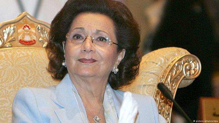 Suzanne Mubarak; Foto: picture-alliance/dpa