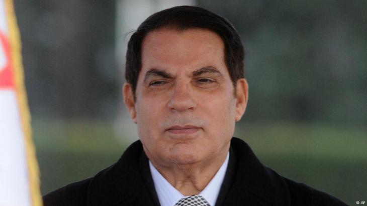 Tunesiens Ex-Diktator Ben Ali; Foto: AP