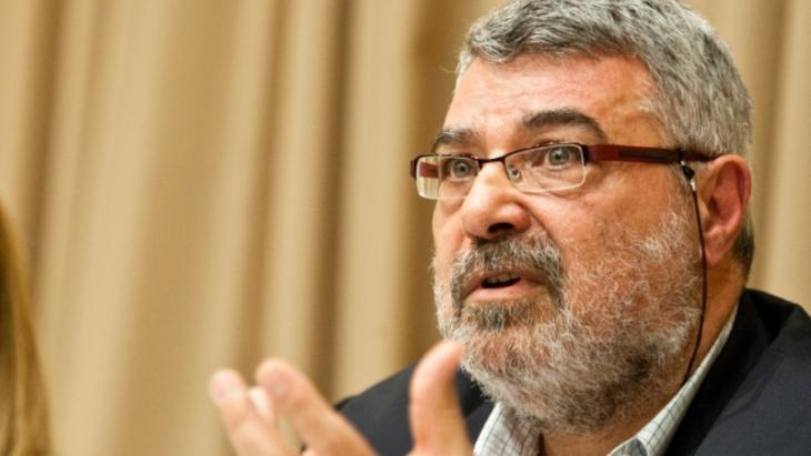 Der palästinensisch-jordanische Politikwissenschaftler und Publizist Rami G. Khouri; Foto: AP