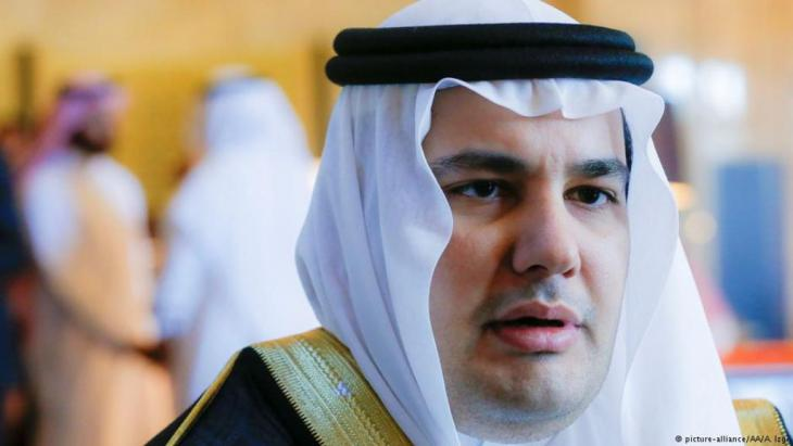 Saudi Arabiens Kulturminister Adel Al Toraifi im Interview in Ankara in Sept. 2016