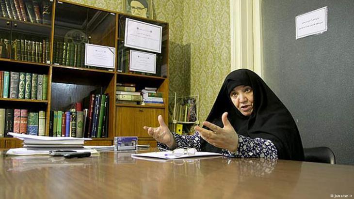 Irans Reformpolitikerin Asam Taleghani; Foto: Jamaran.ir