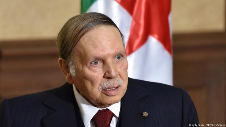 Algeriens Präsident Abdelaziz Bouteflika; Foto: Getty Images/AFP