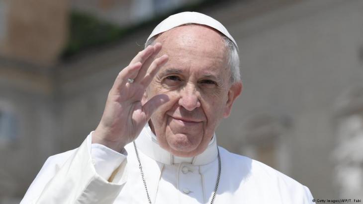Papst Franziskus; Foto: AFP/Getty Images