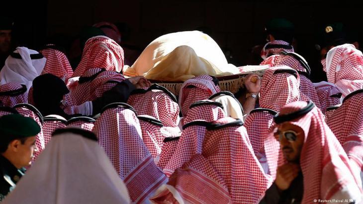 Beerdigung von König Abdullah bin Abdulaziz in Riad im Januar 2015; Foto: Reuters