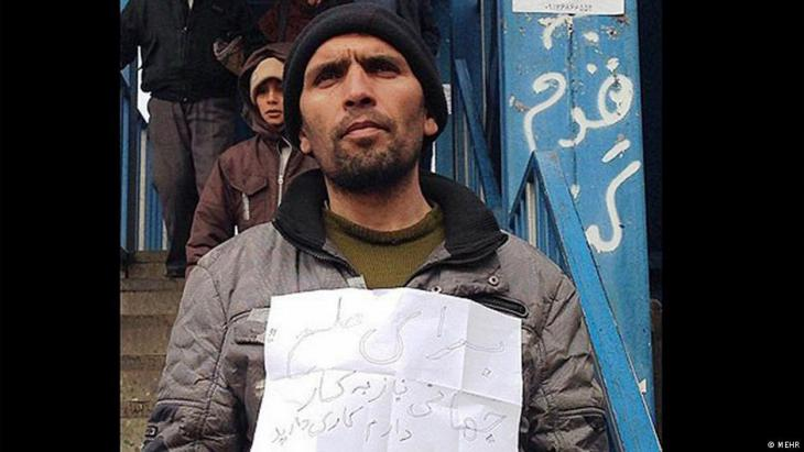Arbeitssuchender in Teheran; Foto: Mehr