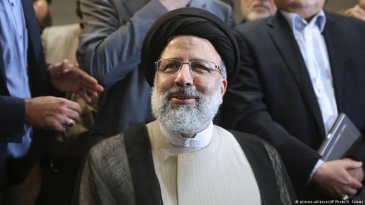 Präsidentschaftskandidat Ebrahim Raeissi; Foto: picture-alliance/AP
