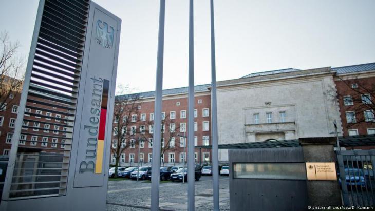 Bundesamt für Migration und Flüchtlinge (BAMF) in Nürnberg; Foto: Daniel Karmann/dpa