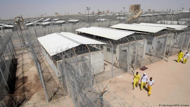 US-Gefängnis Camp Bucca im Irak; Foto: AFP/Getty Images
