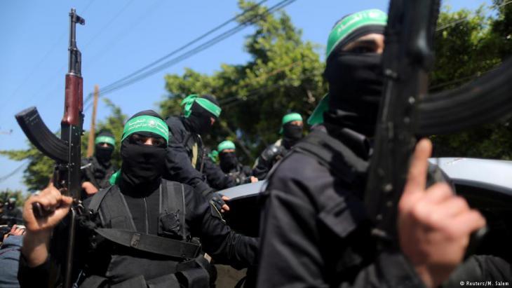 Militante der palästinensischen Hamas; Foto: Reuters/M. Salem