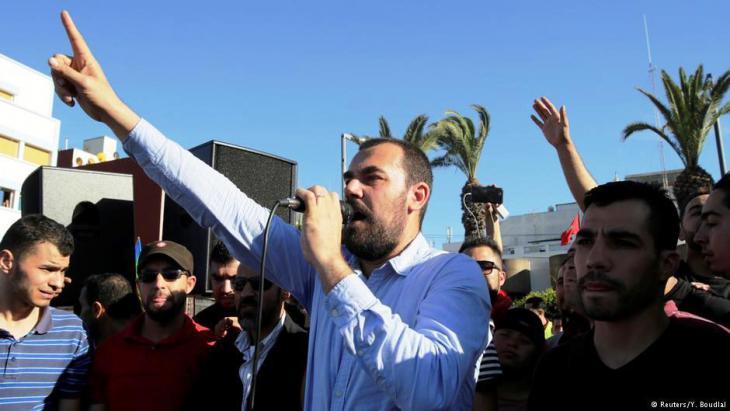 Nasser Zefzafi, Anführer der Protestbewegung in Marokko; Foto: Reuters