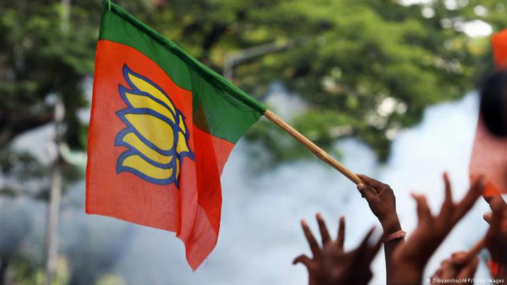 Demonstration von Hindu-Nationalisten in Bangalore; Foto: AFP/Getty Images