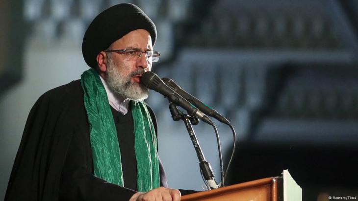 Rohani-Herausforderer Ebrahim Raeissi; Foto: Reuters