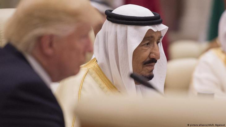 USA: Trump führt Isolation Katars auf seinen Besuch in Riad zurück
