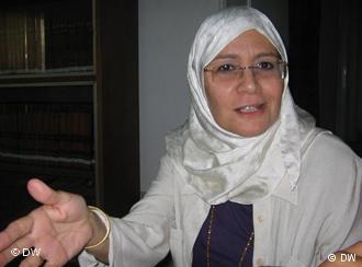 Umaima Abu Bakr; Foto: Hani Darwish/DW