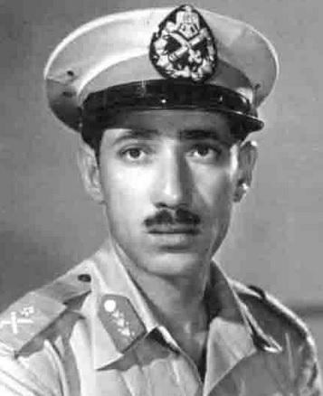Abdel Hakim Amer im Jahr 1955; Foto: wikimedia