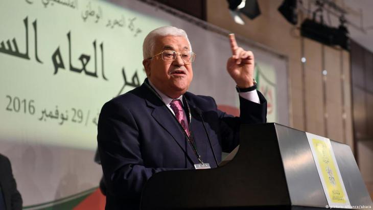 Palästinenser-Präsident Mahmud Abbas; Foto: picture-alliance
