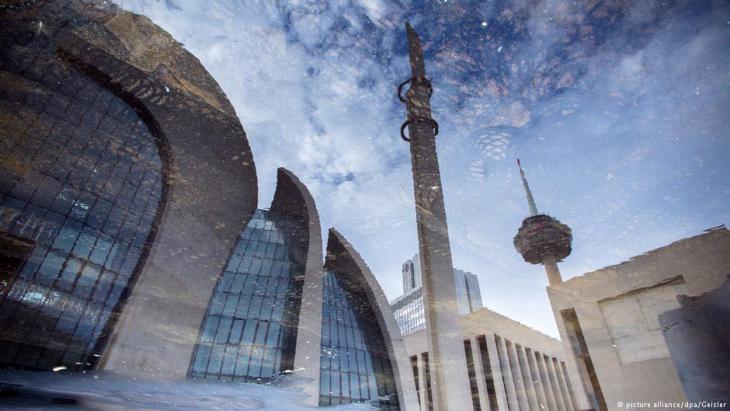 Blick auf die Ditib-Zentral-Moschee in Köln; Foto: dpa