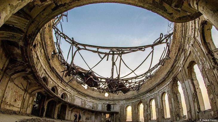 Der Darul-Aman-Palast in Kabul; Foto: Naimat Rawan