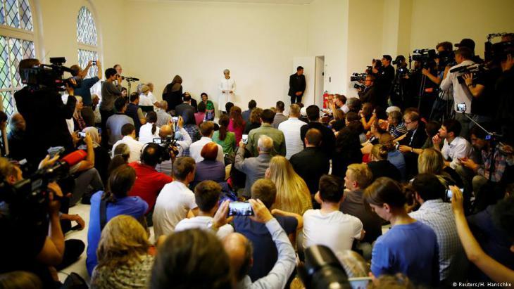 Eröffnungskonferenz der liberalen Moschee in Berlin-Moabit; Foto: Reuters