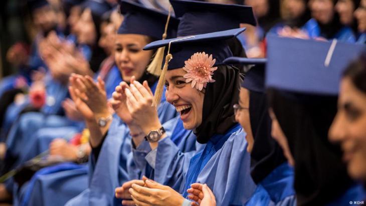 Universitätsabsolventinnen der Technischen Universität Amir Kabir in Teheran; Foto: Mehr
