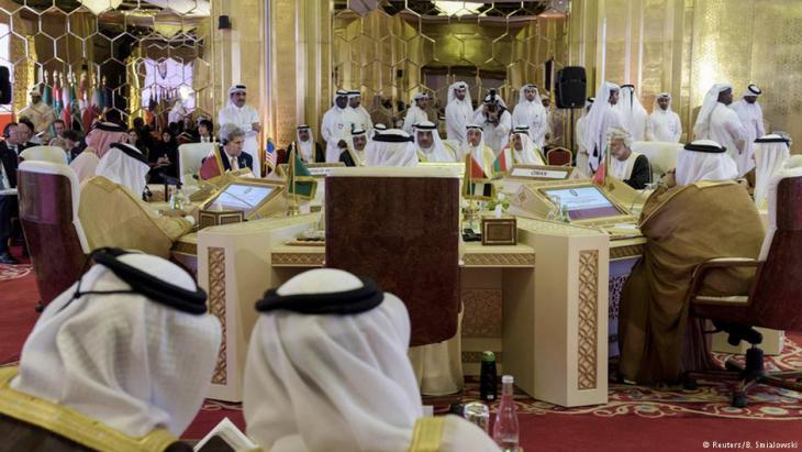 Tagung des Golfkooperationsrates in Doha; Foto: Reuters