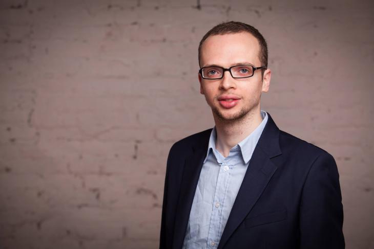 Der Autor und Gründer der Salaam-Shalom-Initiative Armin Langer; Foto: Katja Harbi