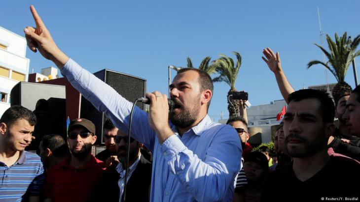 Nasser Zefzafi; Foto: Reuters