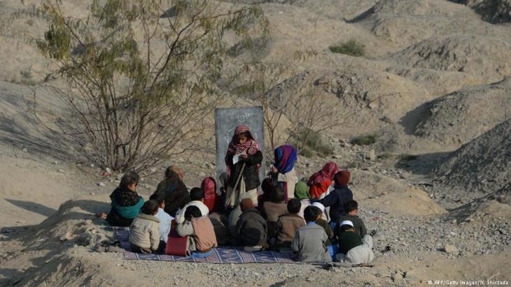 Eine Schule in der ostafghanischen Provinz Nangarhar; Foto: AFP/Getty Images