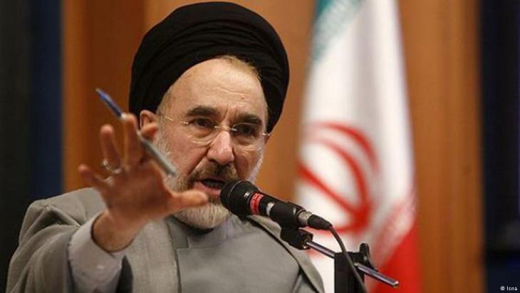 Irans Ex-Präsident Khatami; Foto: ISNA