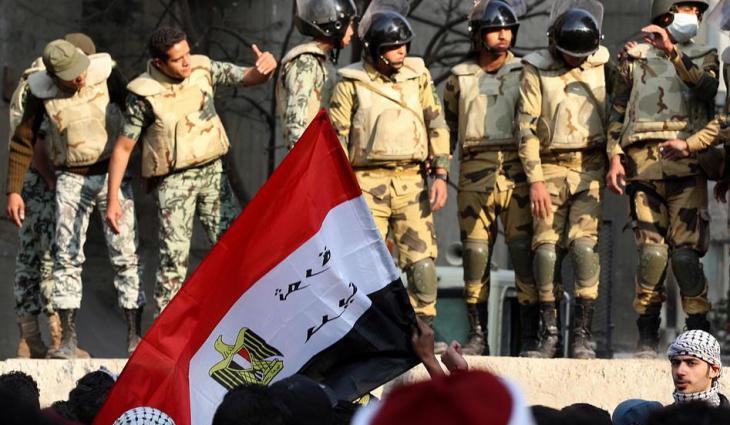 Proteste auf dem Tahrir-Platz in Kairo; Foto: dpa