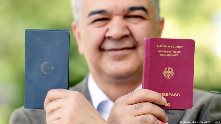 Der Bundesvorsitzende der Türkischen Gemeinde in Deutschland, Gökay Sofuoglu; Foto: dpa/picture-alliance