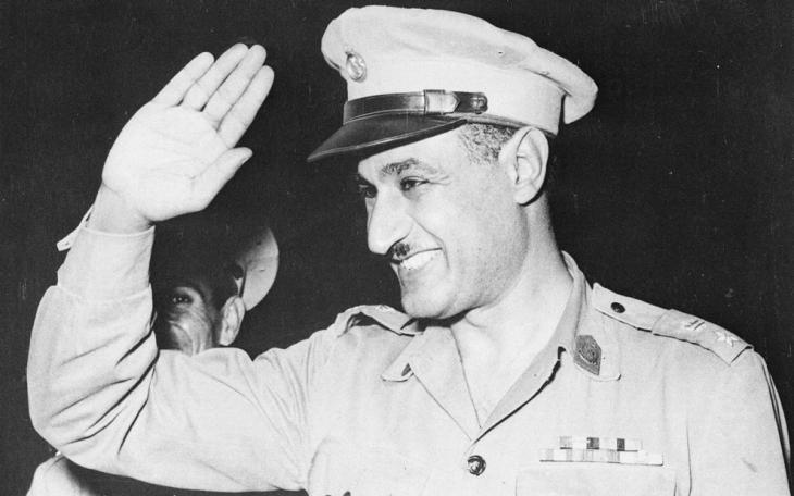 Gamal Abdel Nasser; Foto: AP