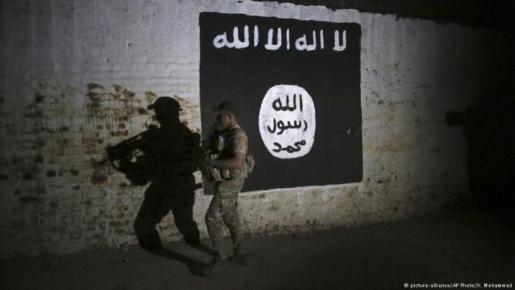Kämpfer in Mossul. Foto: picture alliance/AP Foto