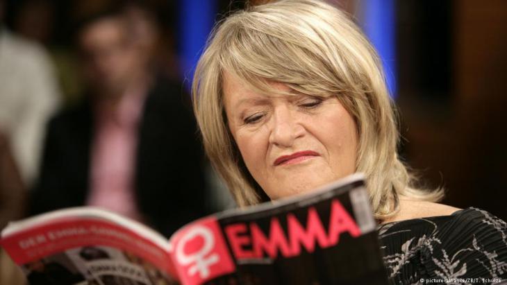 Die Journalistin und Herausgeberin der Zeitschrift Emma, Alice Schwarzer. Foto: Thomas Schulze (dpa)